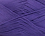 Fiberinnhold 100% Mercerised bomull, Purple, Brand Ice Yarns, Yarn Thickness 2 Fine  Sport, Baby, fnt2-43398