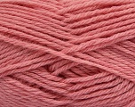 Machine washable. Lay flat to dry Fiberinnhold 80% Superwash Virgin Wool, 20% Akryl, Rose Pink, Brand Ice Yarns, Yarn Thickness 4 Medium  Worsted, Afghan, Aran, fnt2-43435