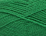 Fiberinnhold 60% Virgin ull, 40% Akryl, Brand Ice Yarns, Green, Yarn Thickness 2 Fine  Sport, Baby, fnt2-43548