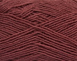 Machine washable. Lay flat to dry Fiberinnhold 60% Superwash Virgin Wool, 40% Akryl, Brand Ice Yarns, Dark Rose Brown, fnt2-43816