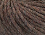 Composition 50% Laine mérinos, 25% Alpaga, 25% Acrylique, Brand Ice Yarns, Brown Melange, fnt2-43826