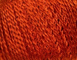 Fiberinnhold 90% viskose, 10% polyamid, Orange, Brand Ice Yarns, fnt2-43897