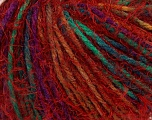 Fiberinnhold 60% Akryl, 40% polyamid, Red, Brand Ice Yarns, Green, Gold, Fuchsia, fnt2-43916