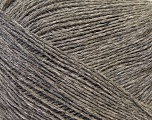 Composition 60% Baby Alpaga, 25% Laine mérinos, 15% Nylon, Brand Ice Yarns, Grey, fnt2-43988