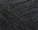 Fiberinnhold 70% Superwash Merino, 30% Baby Alpakka, Brand Ice Yarns, Dark Grey, fnt2-43992