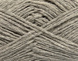 Fiber Content 60% Baby Alpaca, 25% Merino Wool, 15% Nylon, Light Grey, Brand Ice Yarns, fnt2-44024