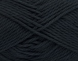 Composition 70% Mako coton, 30% Polyamide, Brand Ice Yarns, Black, fnt2-44094
