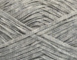 Fiber Content 82% Viscose, 18% Polyamide, Light Grey, Brand Ice Yarns, fnt2-44154