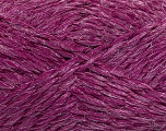 Composition 8% Lurex, 52% Acrylique, 40% Polyamide, Brand Ice Yarns, Fuchsia, fnt2-44192