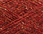Fiber Content 7% Metallic Lurex, 53% Acrylic, 5% Polyamide, 5% Viscose, 30% Wool, Brand Ice Yarns, Copper, fnt2-44232