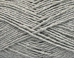 Fiber Content 100% Cotton, Light Grey, Brand ICE, Yarn Thickness 3 Light  DK, Light, Worsted, fnt2-44322