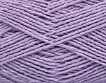 Composition 100% Coton, Light Lilac, Brand Ice Yarns, Yarn Thickness 3 Light  DK, Light, Worsted, fnt2-44331