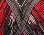Fiber Content 50% Acrylic, 50% Wool, Red Shades, Brand Ice Yarns, Grey Shades, fnt2-44566