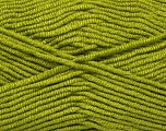 Composition 50% Micro Acrylic, 50% Bambou, Brand Ice Yarns, Green, fnt2-44595