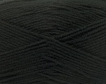 Composition 100% Micro Acrylic, Brand Ice Yarns, Black, fnt2-44720