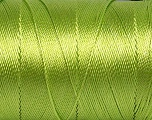Fiber Content 100% Polyester, Light Green, Brand ICE, Yarn Thickness 0 Lace  Fingering Crochet Thread, fnt2-44833