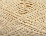 Fiber Content 55% Cotton, 45% Viscose, Brand Ice Yarns, Cream, fnt2-44853