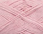 Please note that the yarn weight and the ball length may vary from one color to another for this yarn. Fiber Content 100% Cotton, Light Pink, Brand ICE, Yarn Thickness 3 Light  DK, Light, Worsted, fnt2-45060