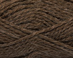 Fiber Content 70% Acrylic, 30% Alpaca, Brand ICE, Brown, Yarn Thickness 5 Bulky  Chunky, Craft, Rug, fnt2-45231