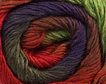 Fiber Content 50% Wool, 50% Acrylic, Red, Purple, Brand ICE, Green, Camel, Brown, Yarn Thickness 2 Fine  Sport, Baby, fnt2-45317