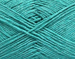 Please note that the yarn weight and the ball length may vary from one color to another for this yarn. Fiber Content 100% Cotton, Mint Green, Brand ICE, Yarn Thickness 3 Light  DK, Light, Worsted, fnt2-46497