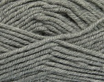 Fiber Content 50% Acrylic, 25% Wool, 25% Alpaca, Brand ICE, Grey, Yarn Thickness 5 Bulky  Chunky, Craft, Rug, fnt2-47131