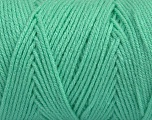 Items made with this yarn are machine washable & dryable. Fiber Content 100% Dralon Acrylic, Mint Green, Brand ICE, Yarn Thickness 4 Medium  Worsted, Afghan, Aran, fnt2-47397