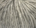 Fiber Content 50% Merino Wool, 25% Acrylic, 25% Alpaca, Light Grey, Brand Ice Yarns, Yarn Thickness 6 SuperBulky  Bulky, Roving, fnt2-48177