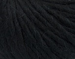 Fiber Content 50% Merino Wool, 25% Acrylic, 25% Alpaca, Brand Ice Yarns, Black, Yarn Thickness 6 SuperBulky  Bulky, Roving, fnt2-48178