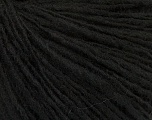 Fiber Content 60% Acrylic, 40% Wool, Brand ICE, Black, Yarn Thickness 3 Light  DK, Light, Worsted, fnt2-48753