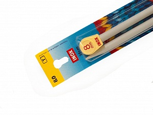 8 mm (US 11) Inox brand knitting needles. Length: 35 cm (14&amp). Size: 8 mm (US 11) Yarn Thickness Other, Brand Inox, acs-112