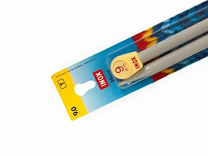 9 mm (US 13) Inox brand knitting needles. Length: 35 cm (14&amp). Size: 9 mm (US 13) Yarn Thickness Other, Brand Inox, acs-113