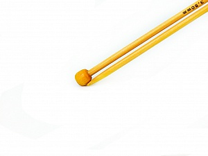 3.5 mm (US 4) A set of 2 bamboo knitting needles. Length: 35 cm (14&amp). Size: 3.5 mm (US 4) Brand SKC, Yarn Thickness Other, acs-167