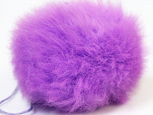 Diameter around 7cm (3&amp) Yarn Thickness Other, Lilac, Brand ICE, acs-555