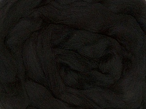 50gr-1.8m (1.76oz-1.97yards) 100% Wool felt Fiberinnhold 100% Ull, Yarn Thickness Other, Brand Ice Yarns, Black, acs-978