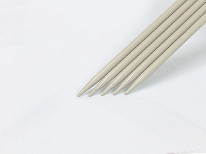7 mm (US 10 1/2) A set of 5 double-point knitting needles. Brand ICE, acs-1072