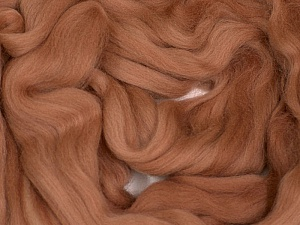 50gr-1.8m (1.76oz-1.97yards) 100% Wool felt Fiberinnhold 100% Ull, Rose Brown, Brand Ice Yarns, acs-1105