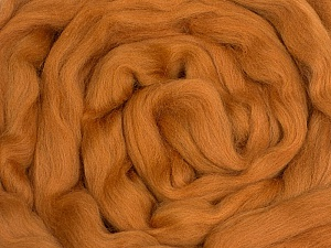 50gr-1.8m (1.76oz-1.97yards) 100% Wool felt Fiberinnehåll 100% Ull, Brand Ice Yarns, Camel, acs-1106