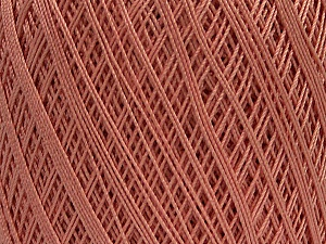 Ne: 10/3 Nm: 17/3 Fiber Content 100% Mercerised Cotton, Rose Pink, Brand ICE, Yarn Thickness 1 SuperFine  Sock, Fingering, Baby, fnt2-49529