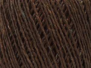 Fiber Content 100% Viscose, Brand ICE, Brown, Yarn Thickness 3 Light  DK, Light, Worsted, fnt2-49539
