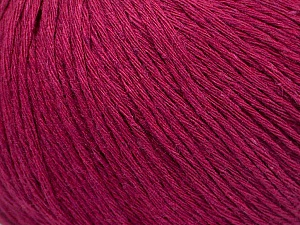 Fiber Content 100% Cotton, Brand ICE, Dark Fuchsia, Yarn Thickness 1 SuperFine  Sock, Fingering, Baby, fnt2-49963
