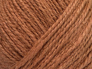 Fiber Content 100% Hemp Yarn, Light Salmon, Brand ICE, Yarn Thickness 3 Light  DK, Light, Worsted, fnt2-50518