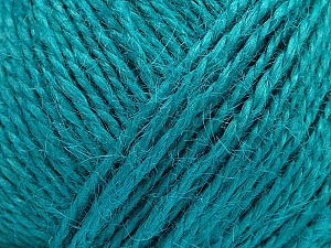 Fiber Content 100% Hemp Yarn, Turquoise, Brand ICE, Yarn Thickness 3 Light  DK, Light, Worsted, fnt2-50519