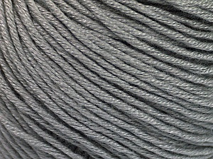 Fiber Content 60% Bamboo, 40% Cotton, Brand ICE, Grey, Yarn Thickness 3 Light  DK, Light, Worsted, fnt2-50533