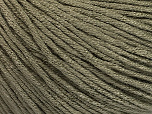 Fiber Content 60% Bamboo, 40% Cotton, Khaki, Brand ICE, Yarn Thickness 3 Light  DK, Light, Worsted, fnt2-50541