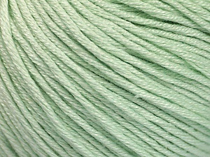 Fiber Content 60% Bamboo, 40% Cotton, Mint Green, Brand ICE, Yarn Thickness 3 Light  DK, Light, Worsted, fnt2-50546