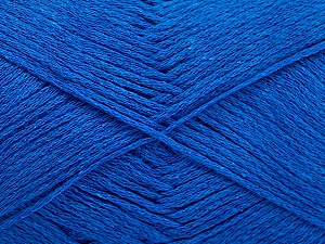 Fiber Content 100% Cotton, Royal Blue, Brand ICE, Yarn Thickness 2 Fine  Sport, Baby, fnt2-51348