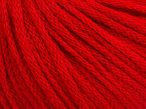 Fiber Content 50% Acrylic, 50% Wool, Red, Brand ICE, Yarn Thickness 4 Medium  Worsted, Afghan, Aran, fnt2-51391