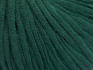 Fiber Content 50% Acrylic, 50% Wool, Brand ICE, Dark Green, Yarn Thickness 4 Medium  Worsted, Afghan, Aran, fnt2-51404