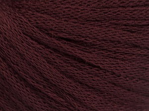 Fiber Content 50% Wool, 50% Acrylic, Maroon, Brand ICE, Yarn Thickness 4 Medium  Worsted, Afghan, Aran, fnt2-51468